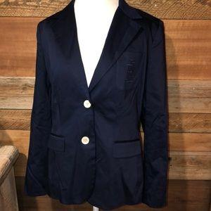Ralph Lauren Navy Signature Blazer 14